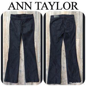 NWT ANN TAYLOR Devin Fit Flare Leg Jeans Sz 2 $89!